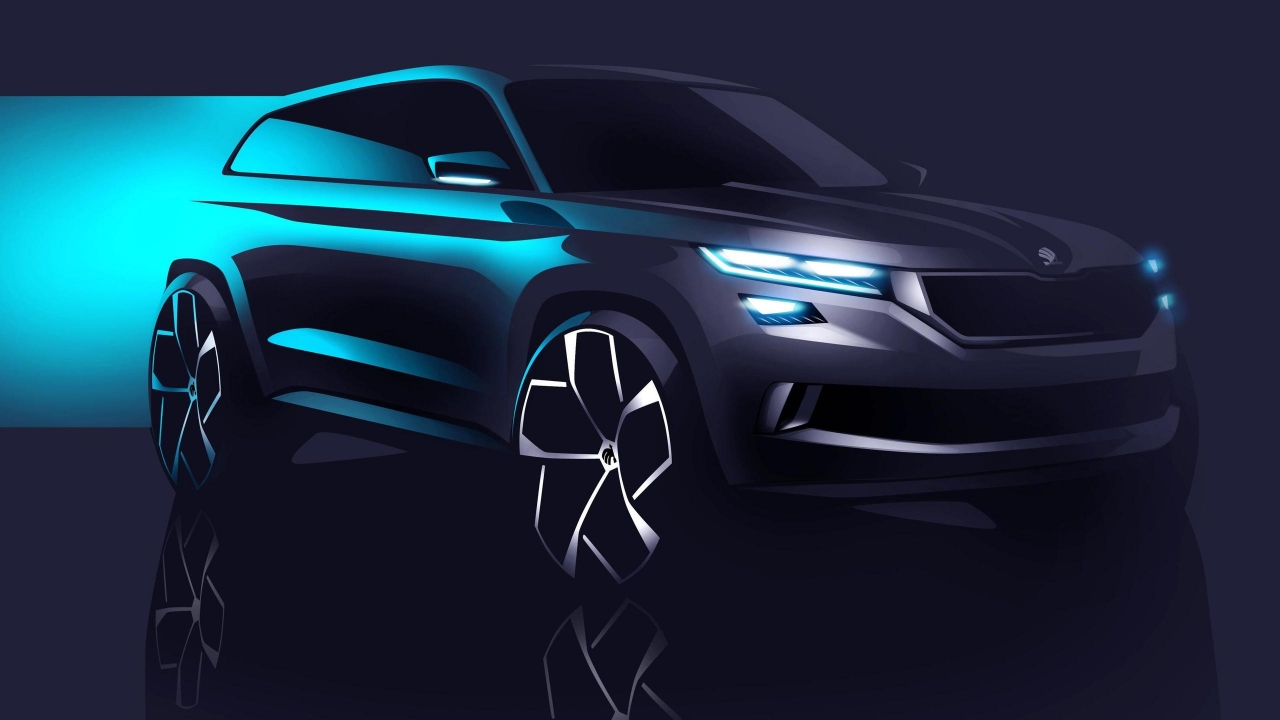 2016 Skoda Visions Concept for 1280 x 720 HDTV 720p resolution