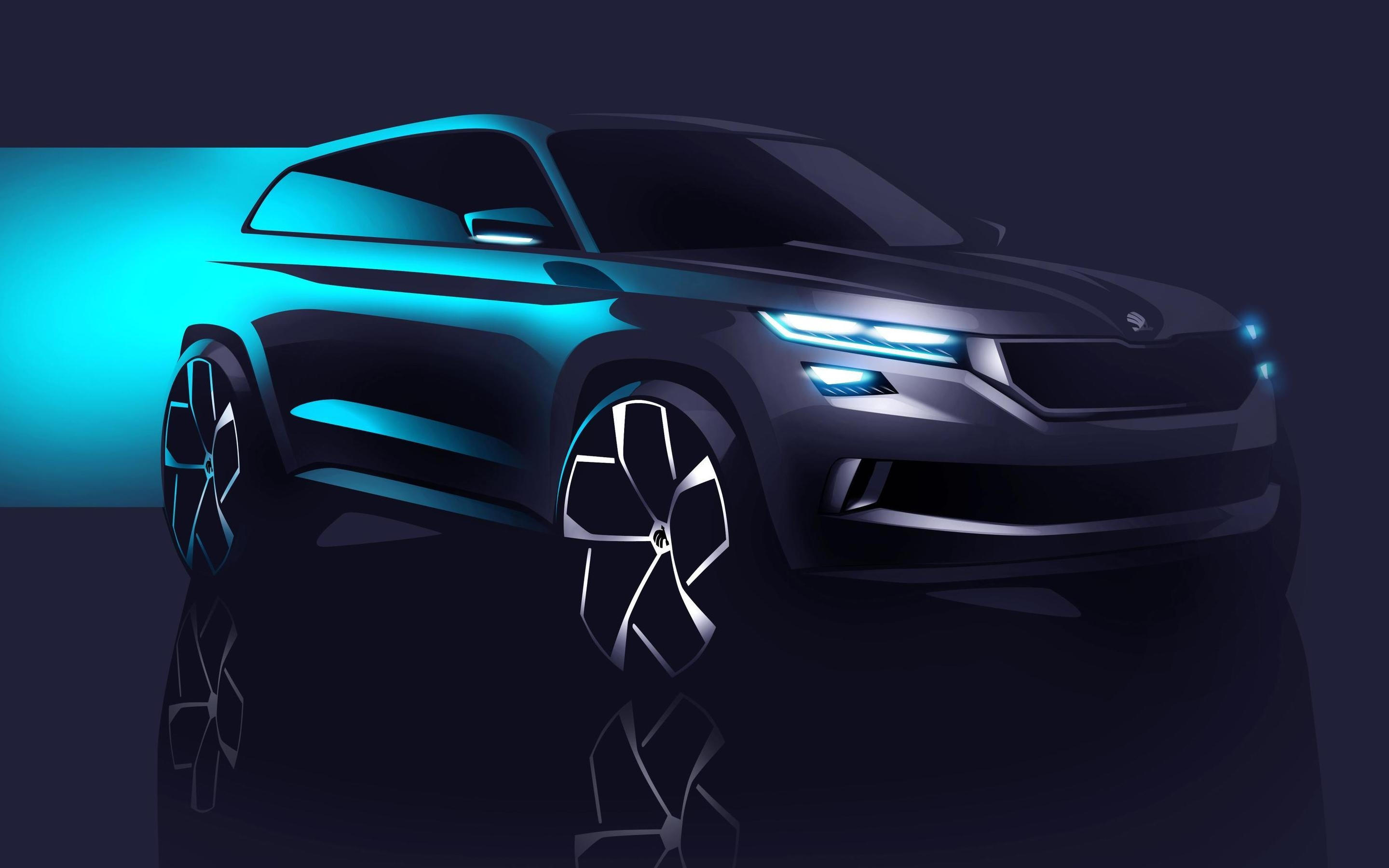 2016 Skoda Visions Concept for 2880 x 1800 Retina Display resolution