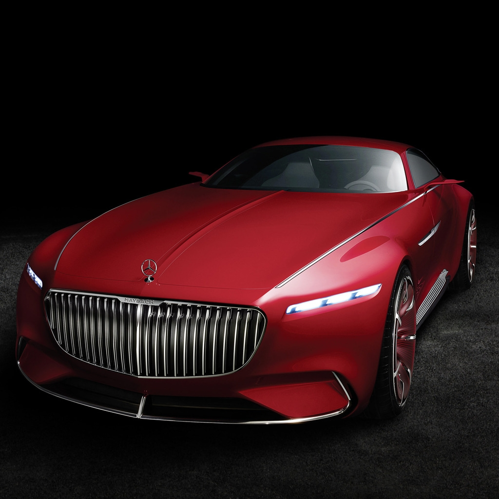 2016 Vision Mercedes Maybach 6 for 1024 x 1024 iPad resolution