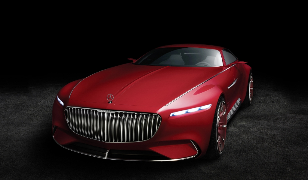 2016 Vision Mercedes Maybach 6 for 1024 x 600 widescreen resolution