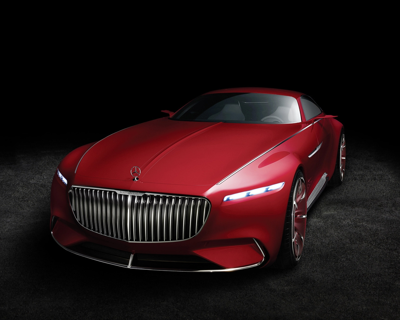 2016 Vision Mercedes Maybach 6 for 1280 x 1024 resolution