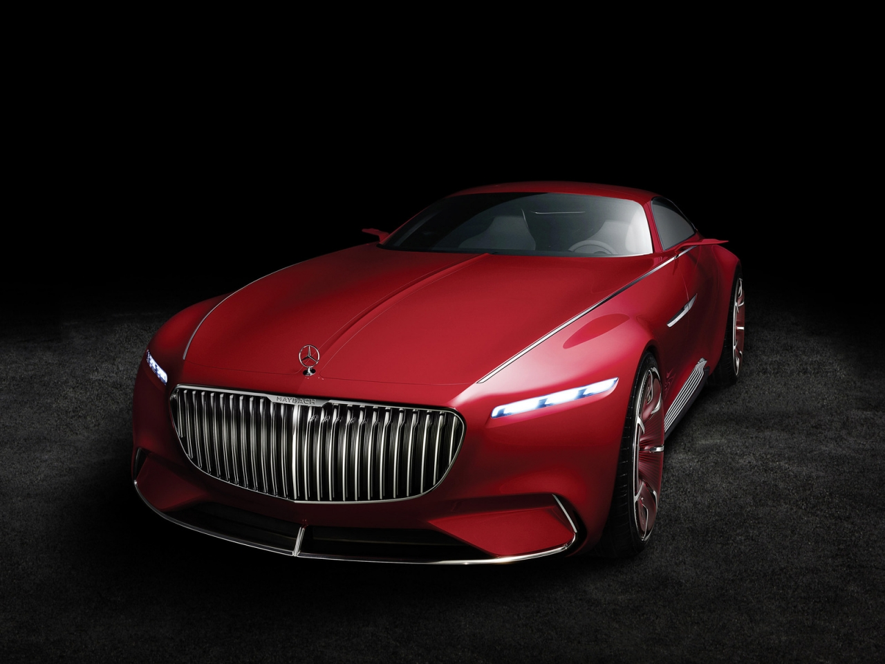 2016 Vision Mercedes Maybach 6 for 1280 x 960 resolution