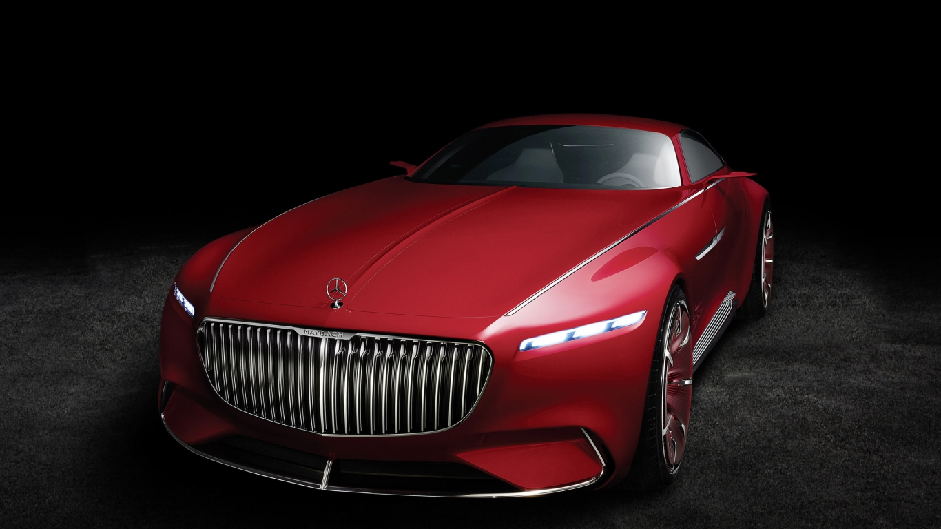 2016 Vision Mercedes Maybach 6 for 1366 x 768 HDTV resolution