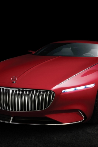2016 Vision Mercedes Maybach 6 for 320 x 480 iPhone resolution