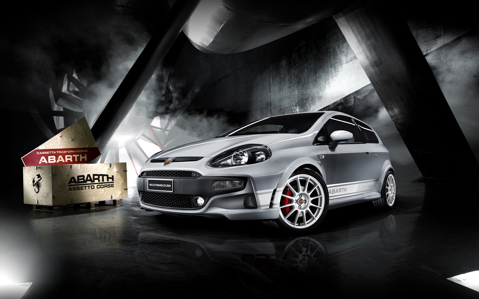 Abarth Punto for 1920 x 1200 widescreen resolution