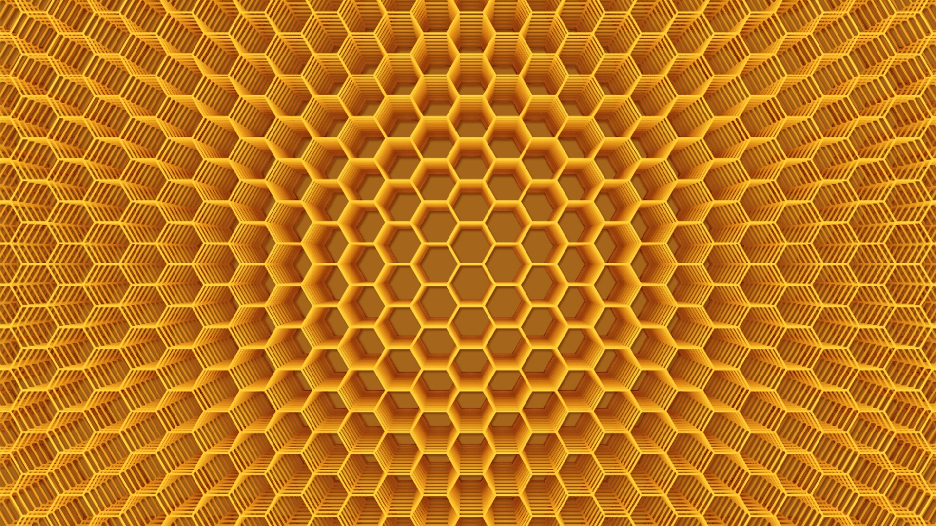 Abstract Honeycomb Structure for 1920 x 1080 HDTV 1080p resolution