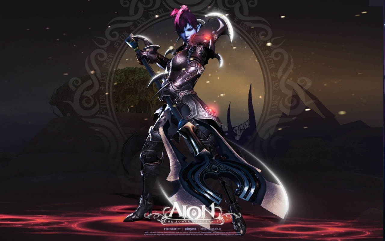 Aion The Tower of Eternity for 1280 x 800 widescreen resolution