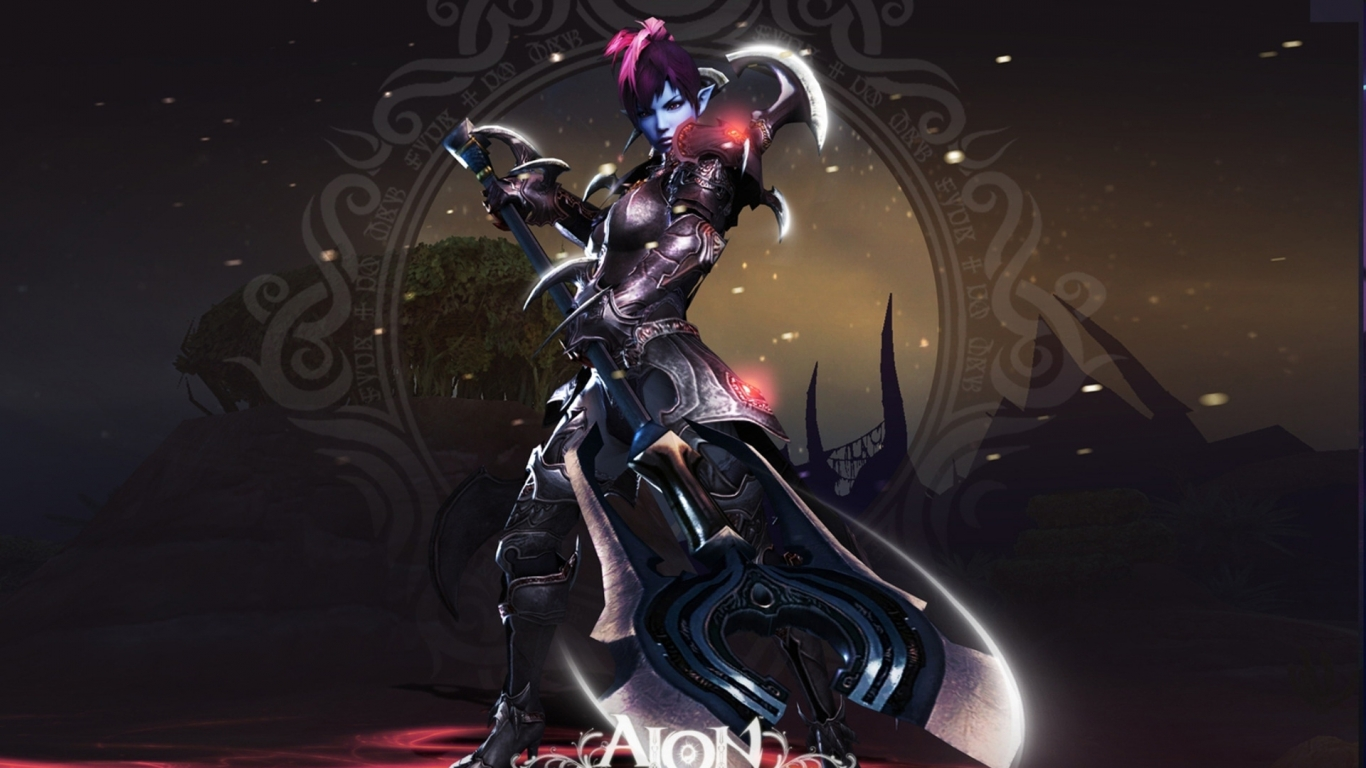Aion The Tower of Eternity for 1366 x 768 HDTV resolution