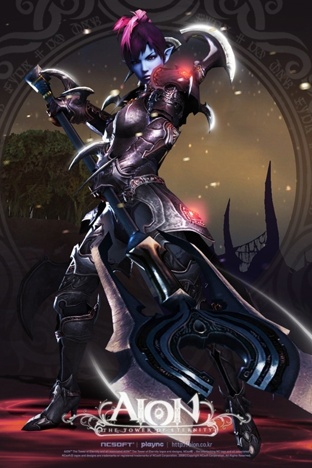 Aion The Tower of Eternity for 640 x 960 iPhone 4 resolution