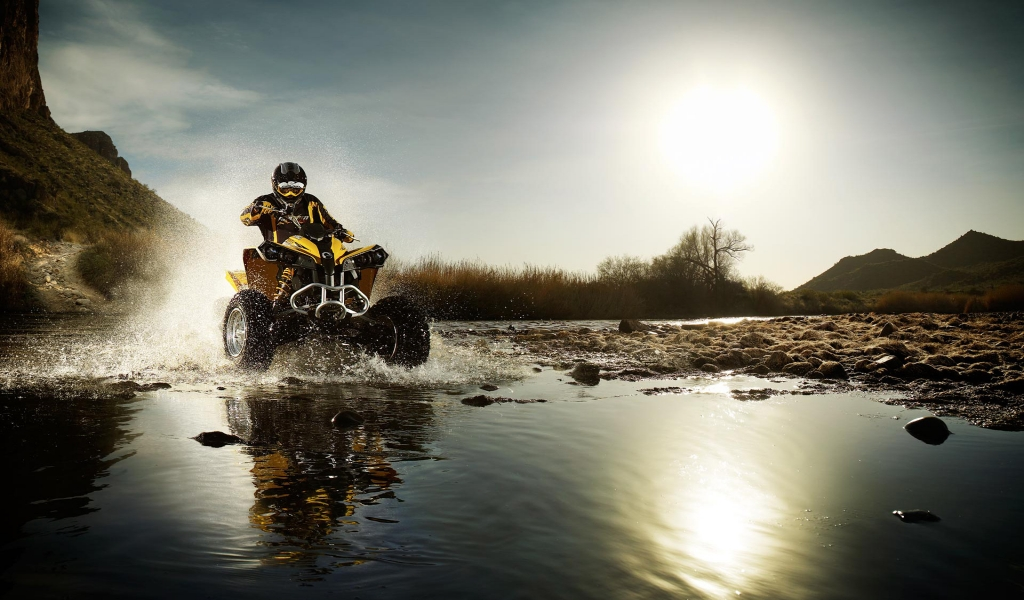 Amazing Atv for 1024 x 600 widescreen resolution