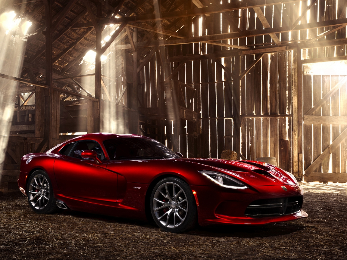 Amazing Dodge SRT Viper GTS for 1152 x 864 resolution