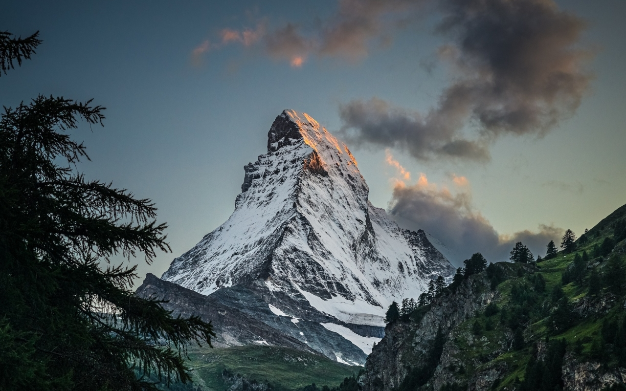 Amazing Mountain Peak for 1280 x 800 widescreen resolution