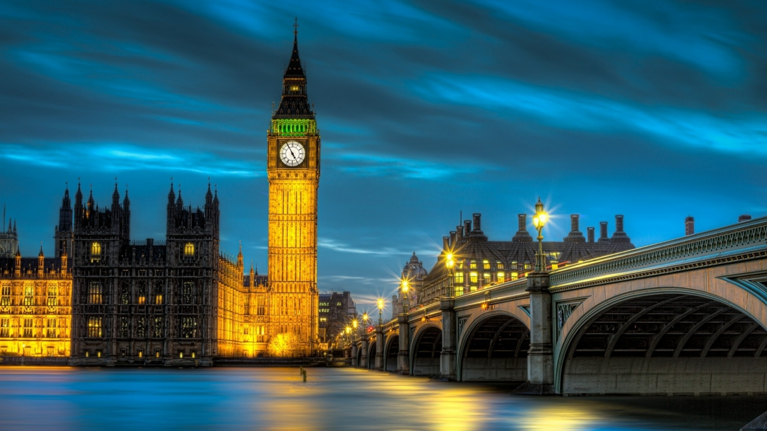 Amazing Palace of Westminster for 1536 x 864 HDTV resolution