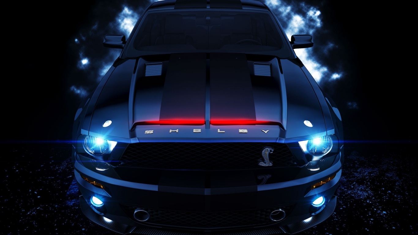 Amazing Shelby for 1366 x 768 HDTV resolution