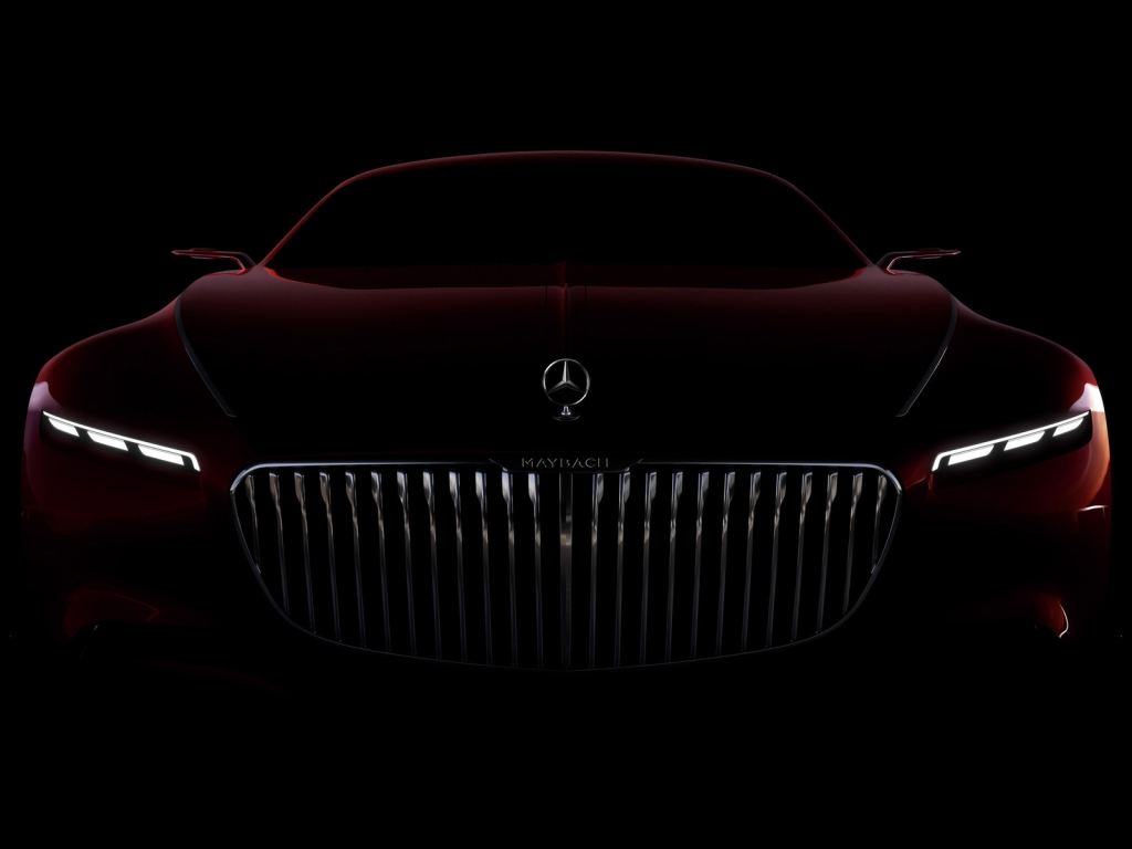 Amazing Vision Mercedes Maybach 6 2016 for 1024 x 768 resolution