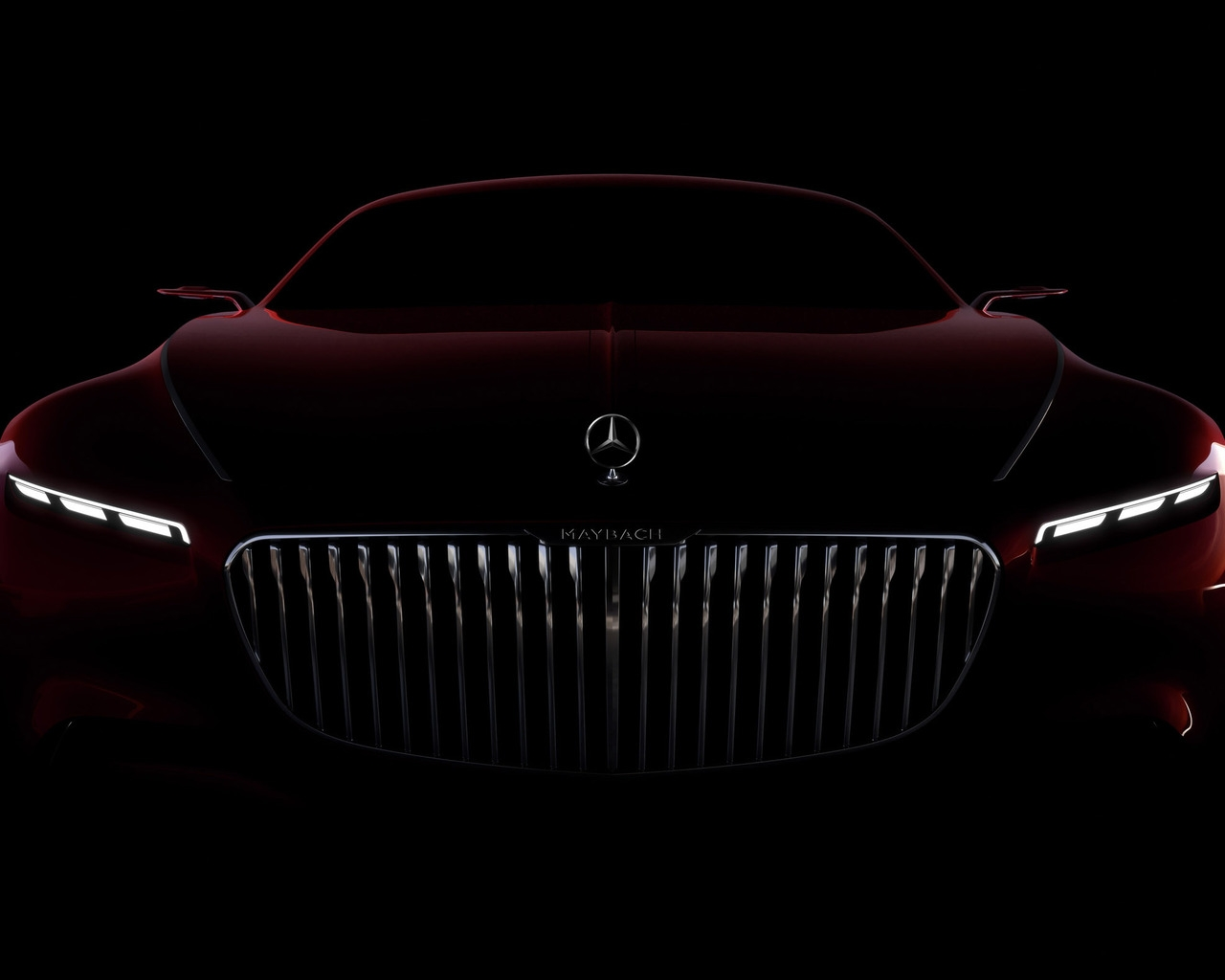 Amazing Vision Mercedes Maybach 6 2016 for 1280 x 1024 resolution