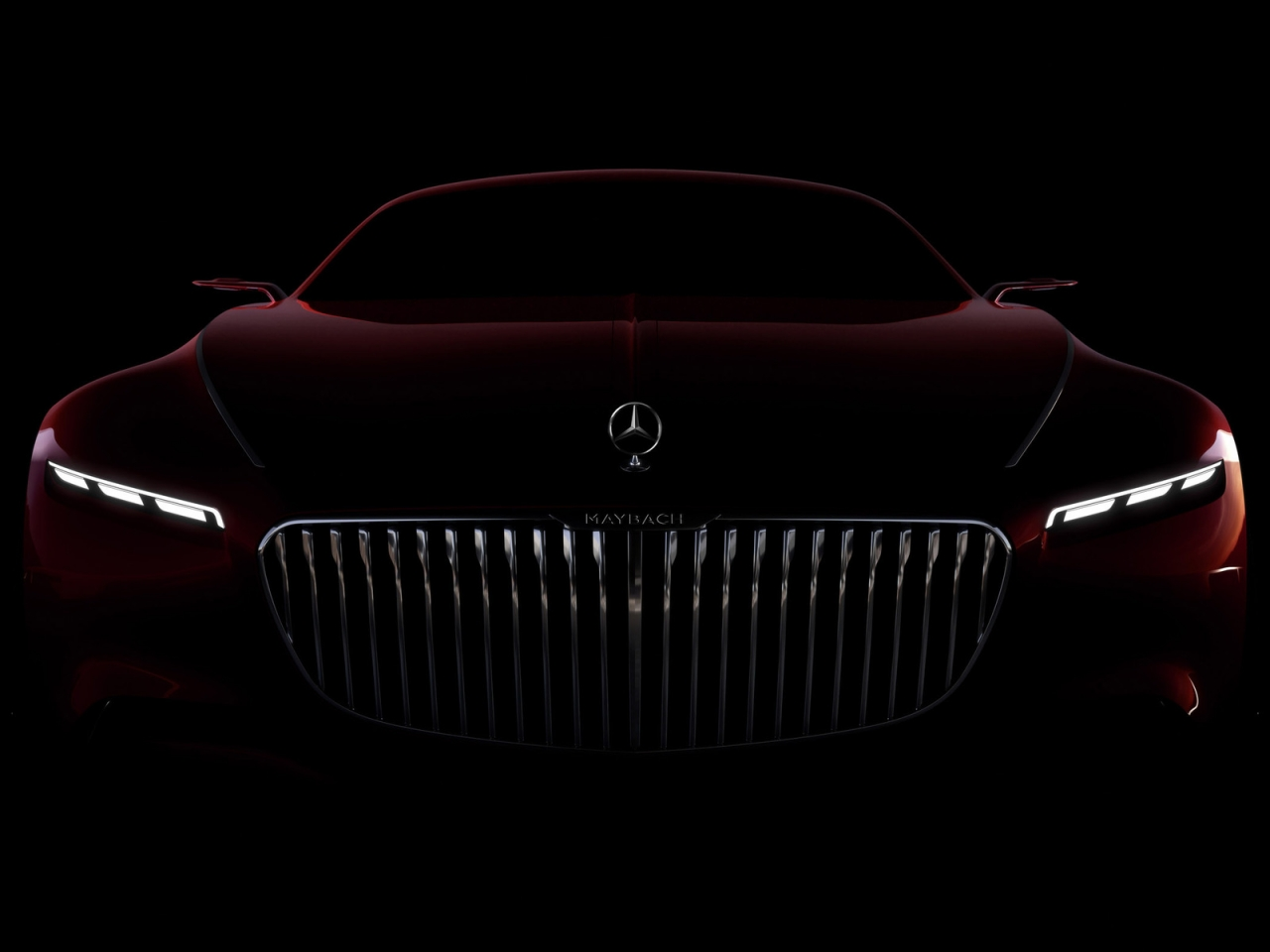 Amazing Vision Mercedes Maybach 6 2016 for 1280 x 960 resolution