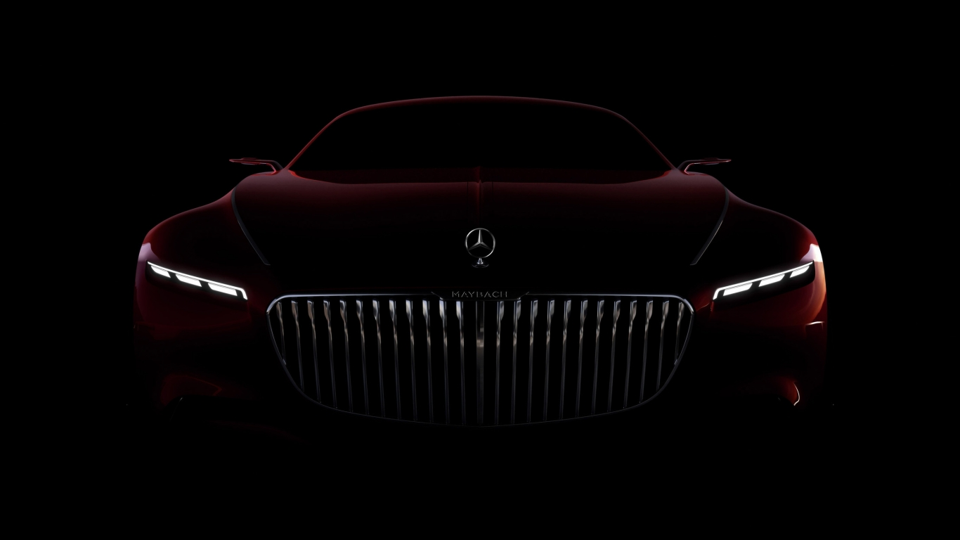 Amazing Vision Mercedes Maybach 6 2016 for 1366 x 768 HDTV resolution