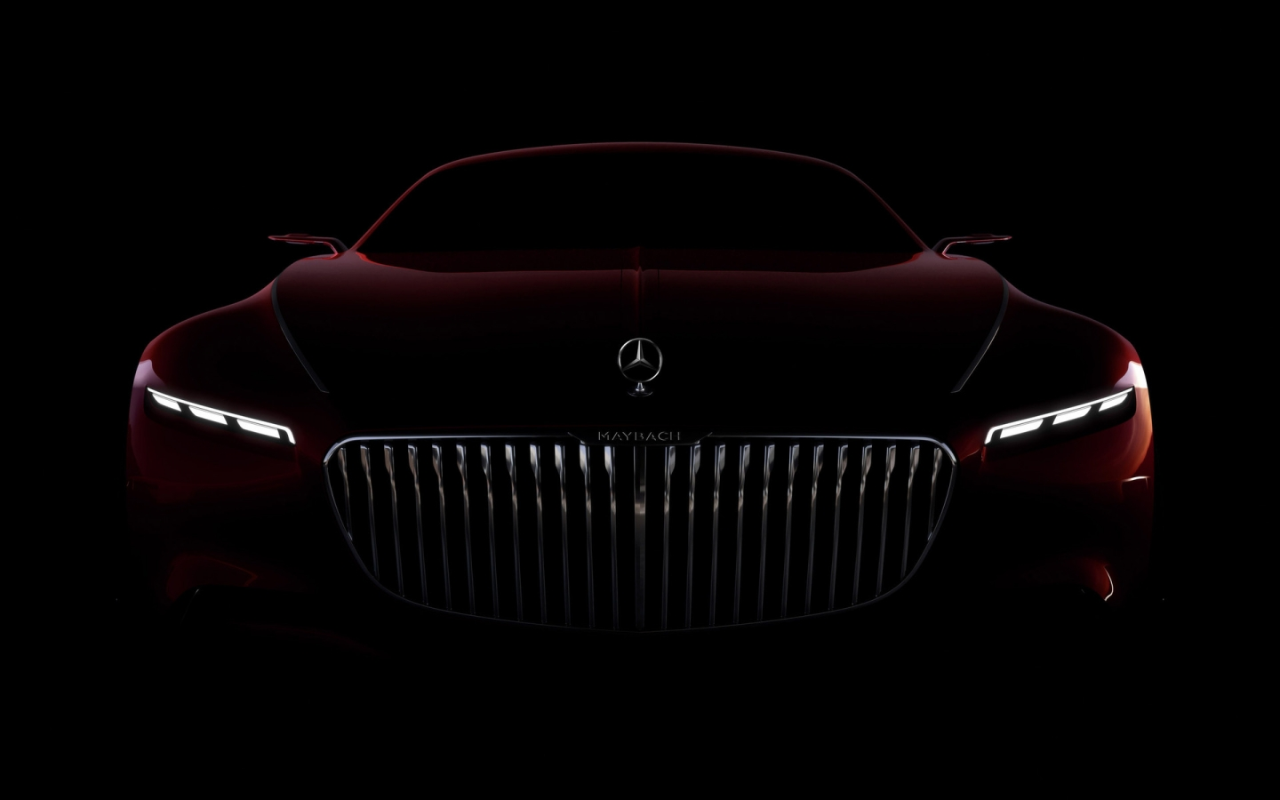 Amazing Vision Mercedes Maybach 6 2016 for 1440 x 900 widescreen resolution
