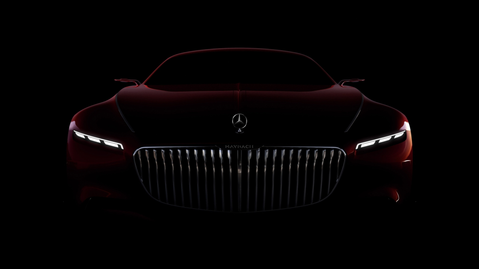 Amazing Vision Mercedes Maybach 6 2016 for 1600 x 900 HDTV resolution