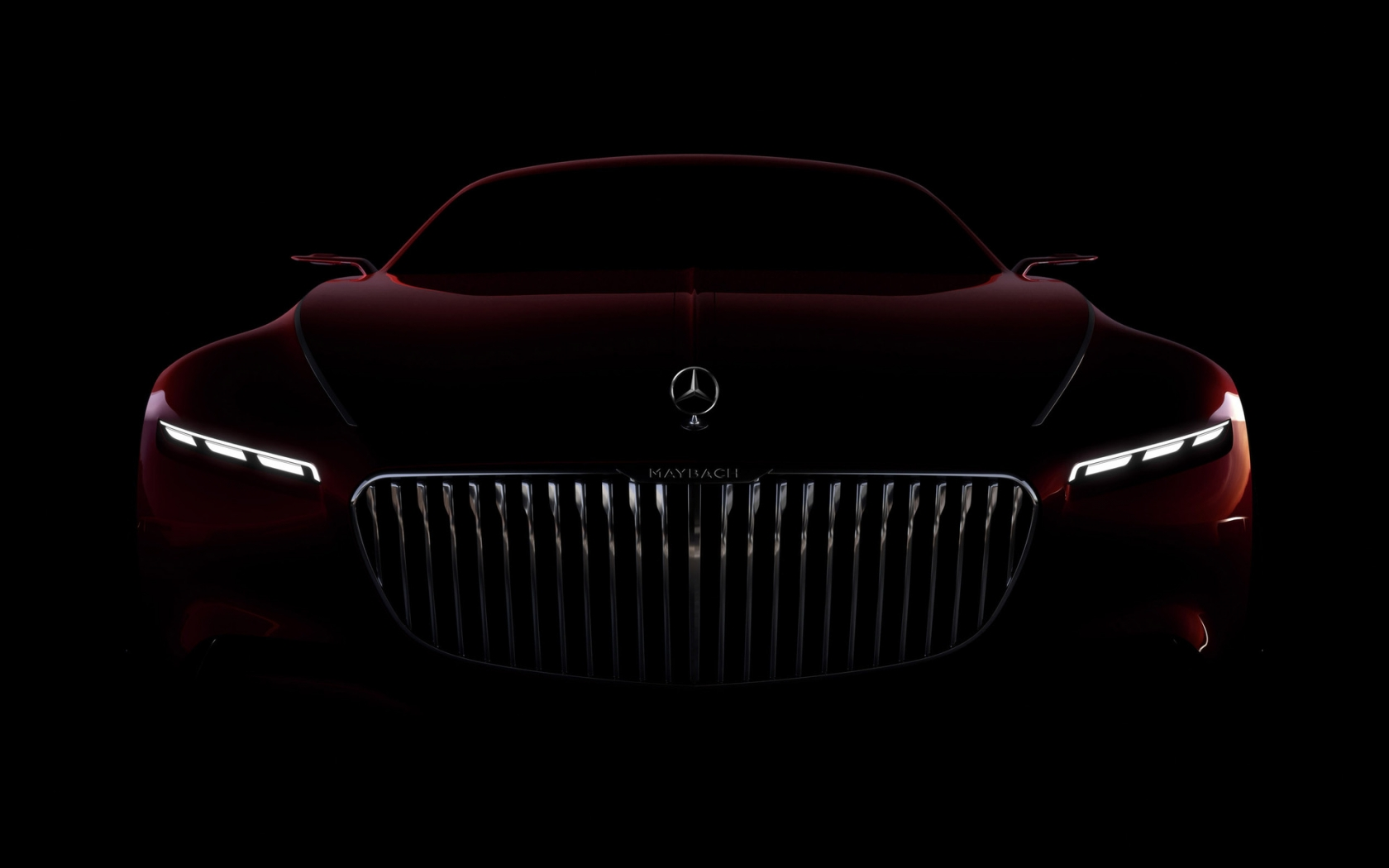 Amazing Vision Mercedes Maybach 6 2016 for 1680 x 1050 widescreen resolution