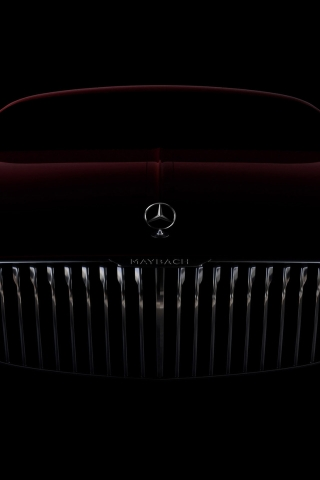 Amazing Vision Mercedes Maybach 6 2016 for 320 x 480 iPhone resolution