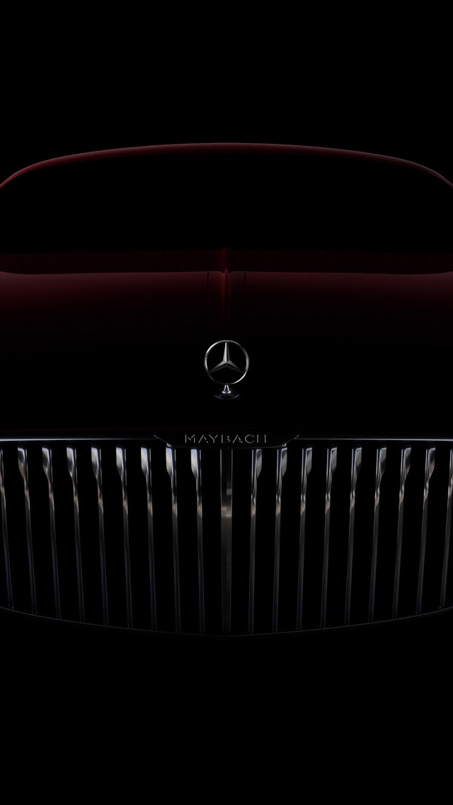 Amazing Vision Mercedes Maybach 6 2016 for 640 x 1136 iPhone 5 resolution