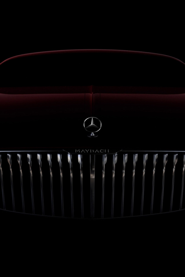 Amazing Vision Mercedes Maybach 6 2016 for 640 x 960 iPhone 4 resolution