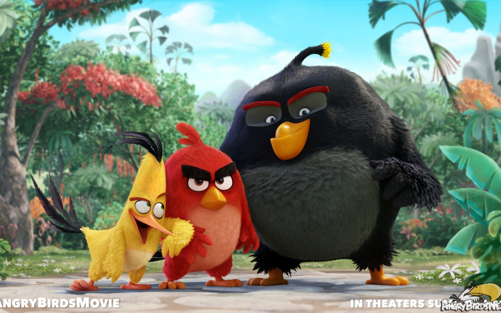 Angry Birds Movie for 1680 x 1050 widescreen resolution