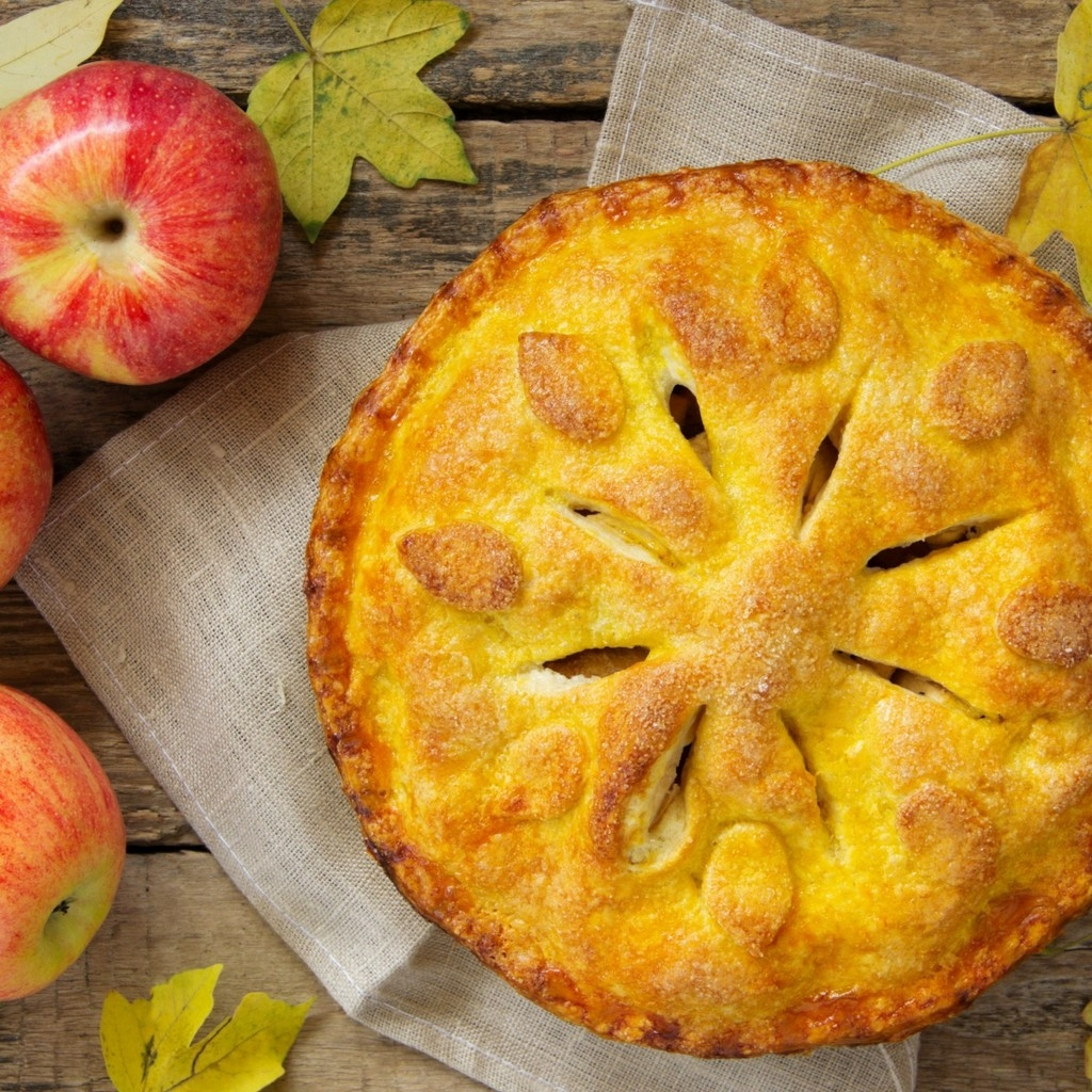 Apple Pie for 1024 x 1024 iPad resolution
