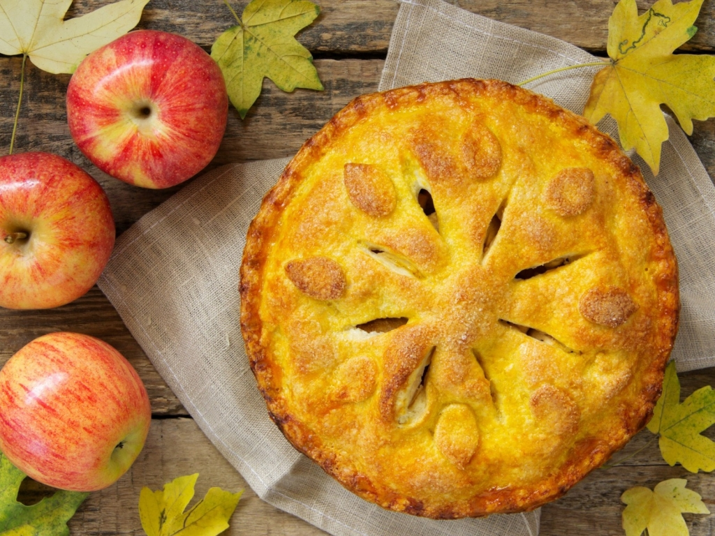 Apple Pie for 1024 x 768 resolution