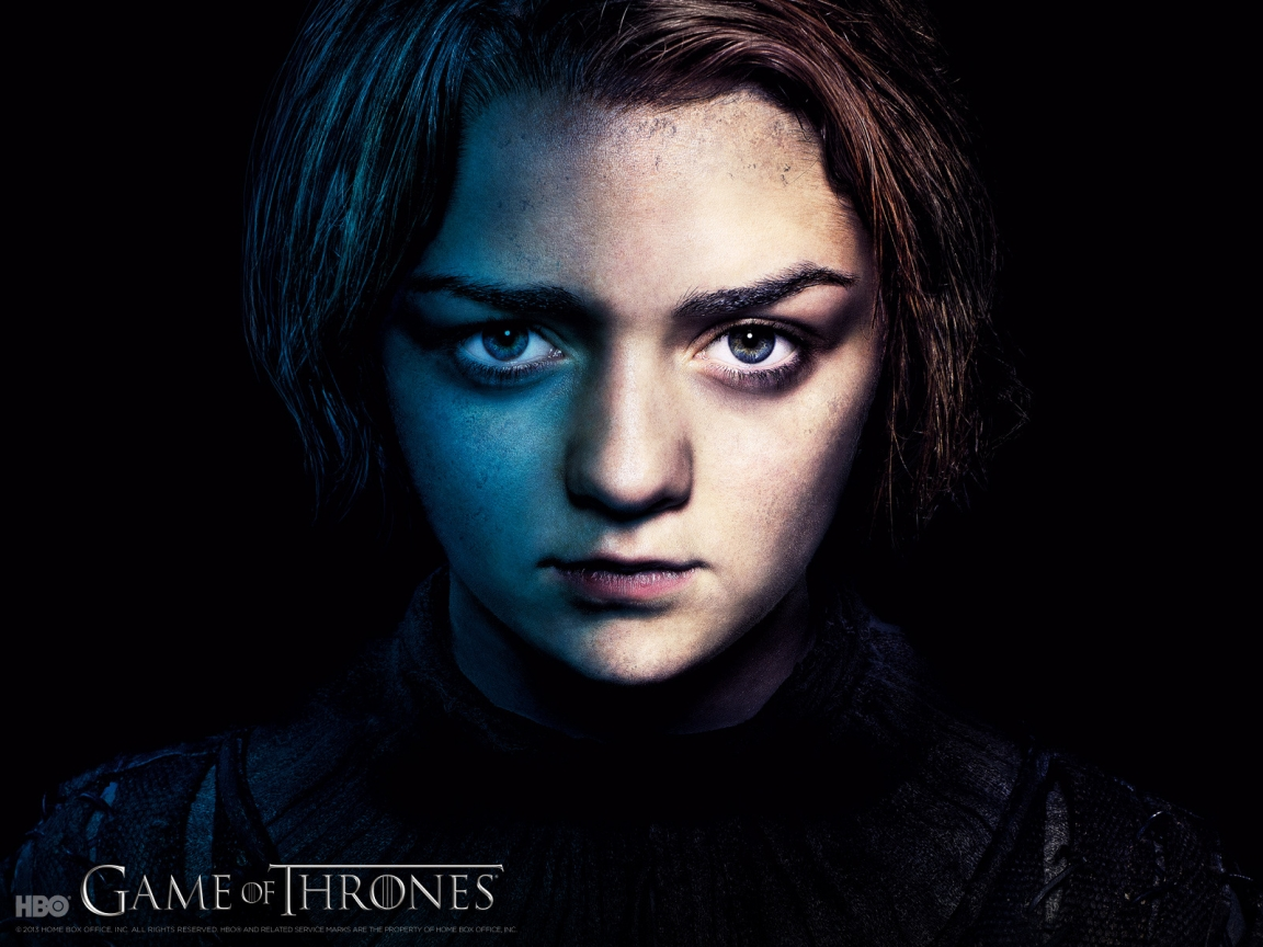 Arya Stark Game of Thrones for 1152 x 864 resolution