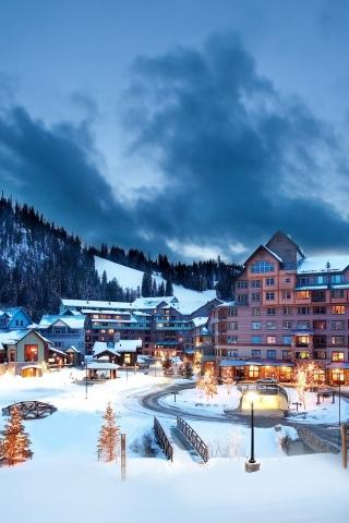 Aspen Colorado Ski Resort For 320 X 480 IPhone Resolution