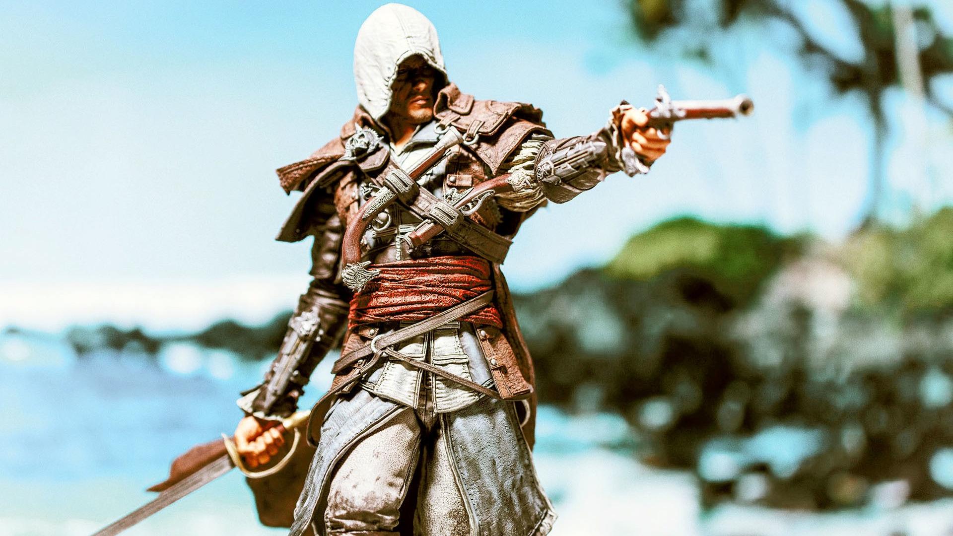 Assassin Creed Black Flag Character Hd Wallpaper Wallpaperfx