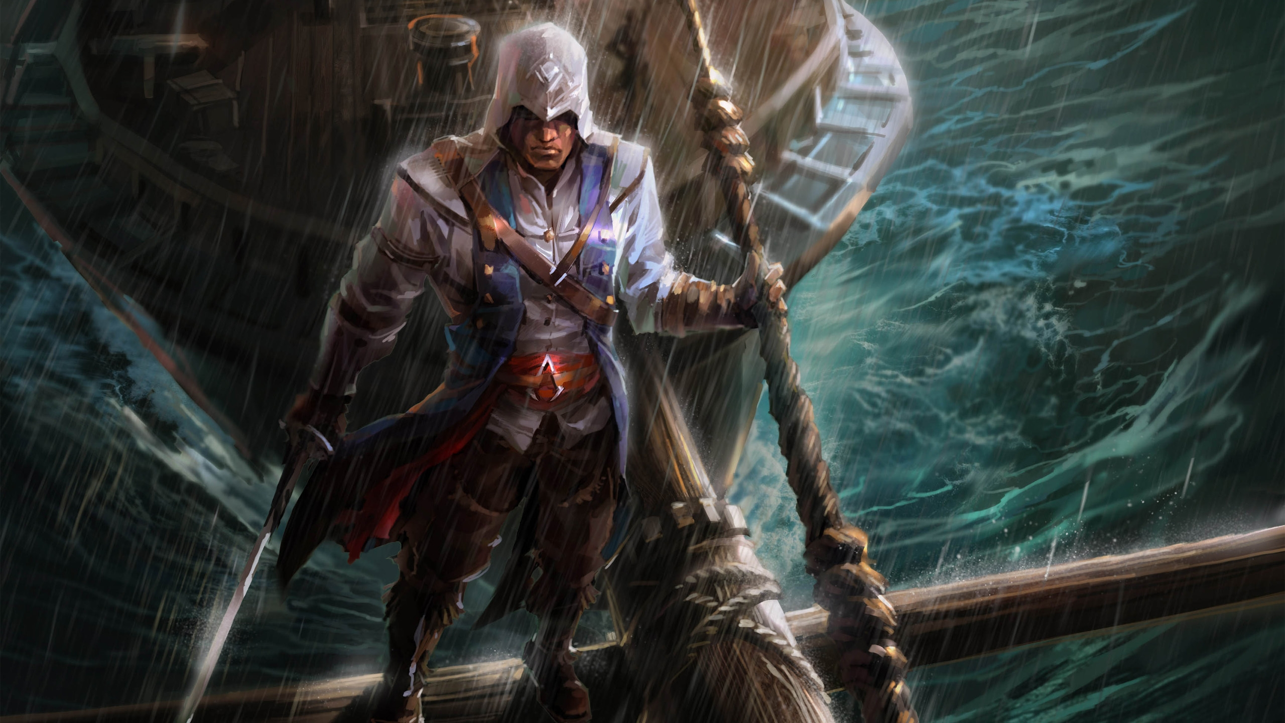 Assassins Creed Fan Art Hd Wallpaper Wallpaperfx