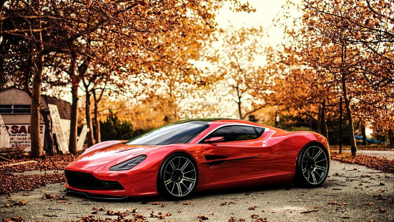 Aston Martin DBC Concept for 1280 x 720 HDTV 720p resolution