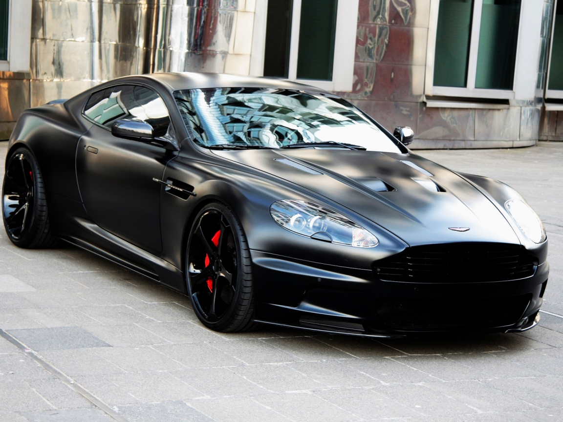 Aston Martin DBS Superior Black Edition for 1152 x 864 resolution