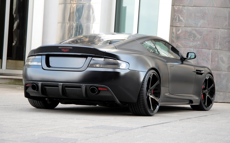 Aston Martin DBS Superior Black Edition Rear 1440 x 900 ...