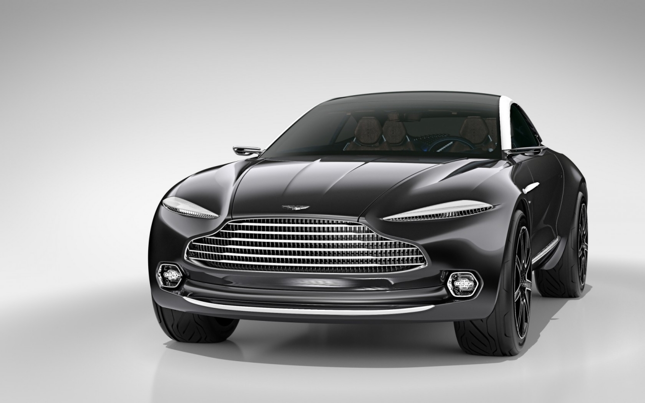 Aston Martin DBX Concept Front View for 1280 x 800 widescreen resolution
