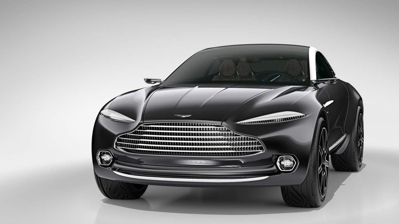 Aston Martin DBX Concept Front View for 1366 x 768 HDTV resolution