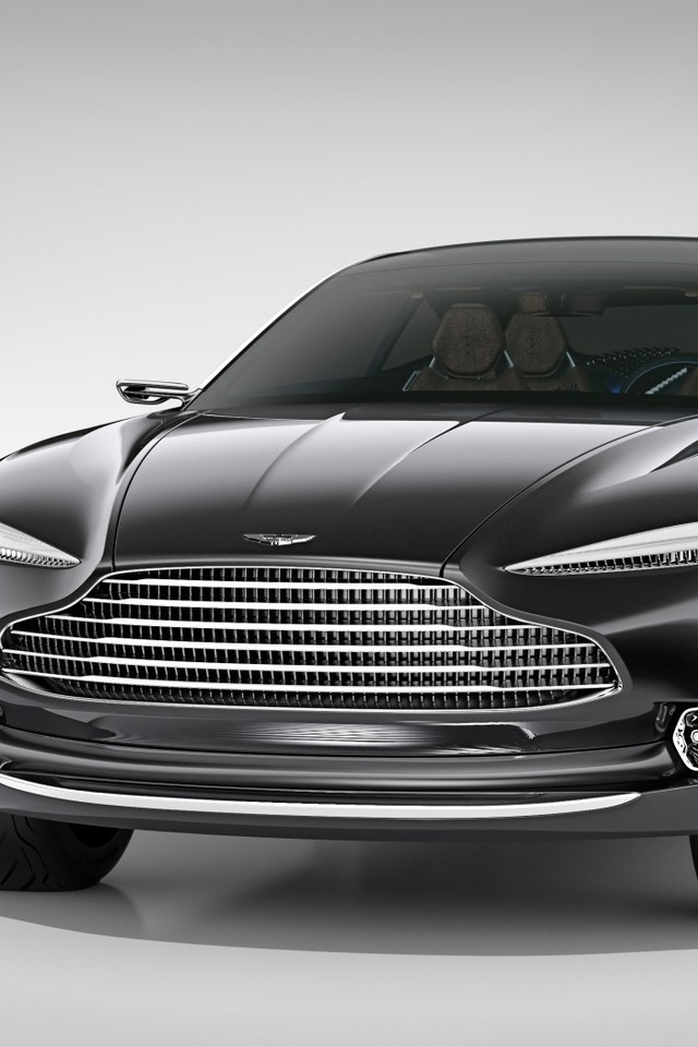 Aston Martin DBX Concept Front View for 640 x 960 iPhone 4 resolution