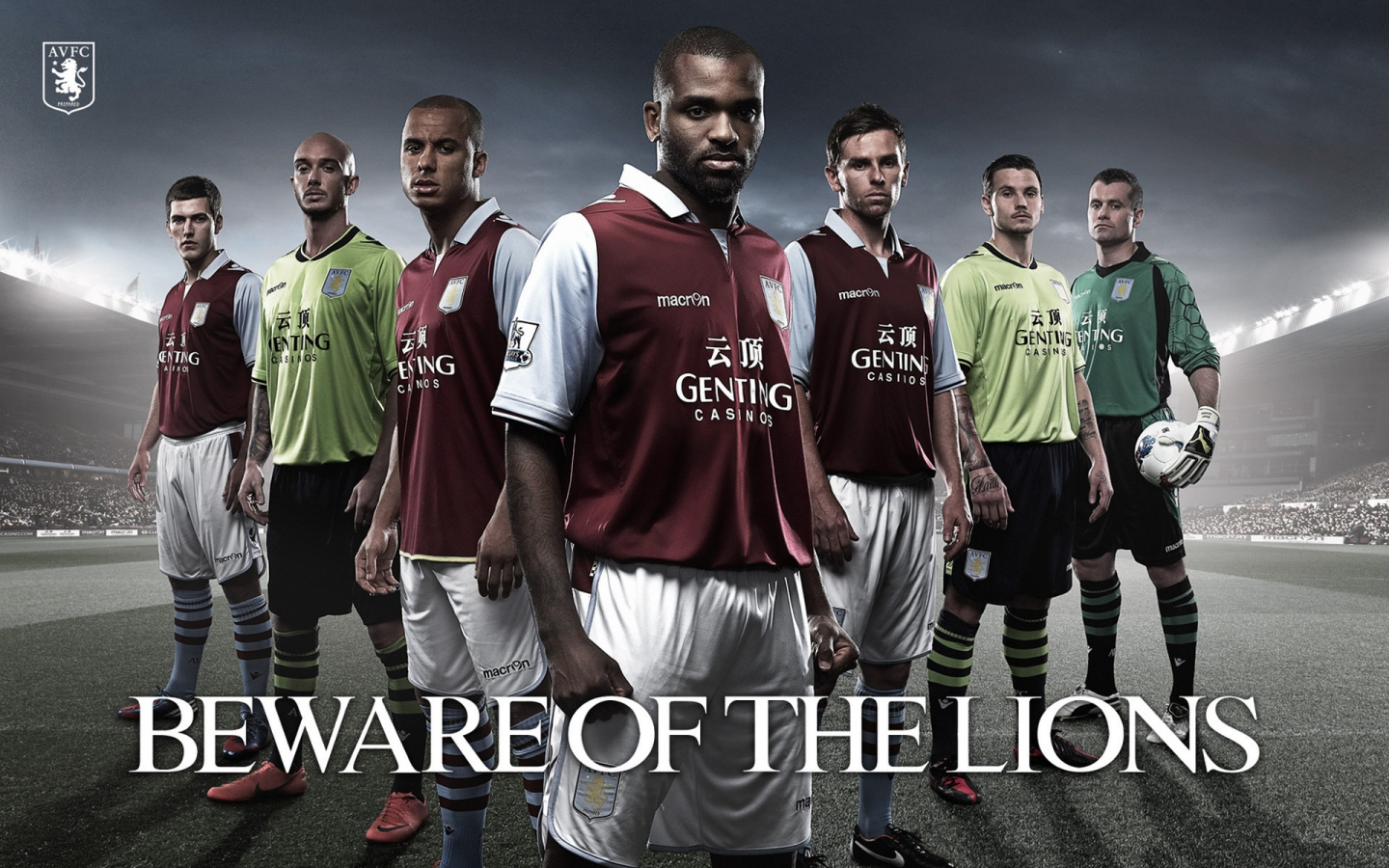 Aston Villa for 1440 x 900 widescreen resolution