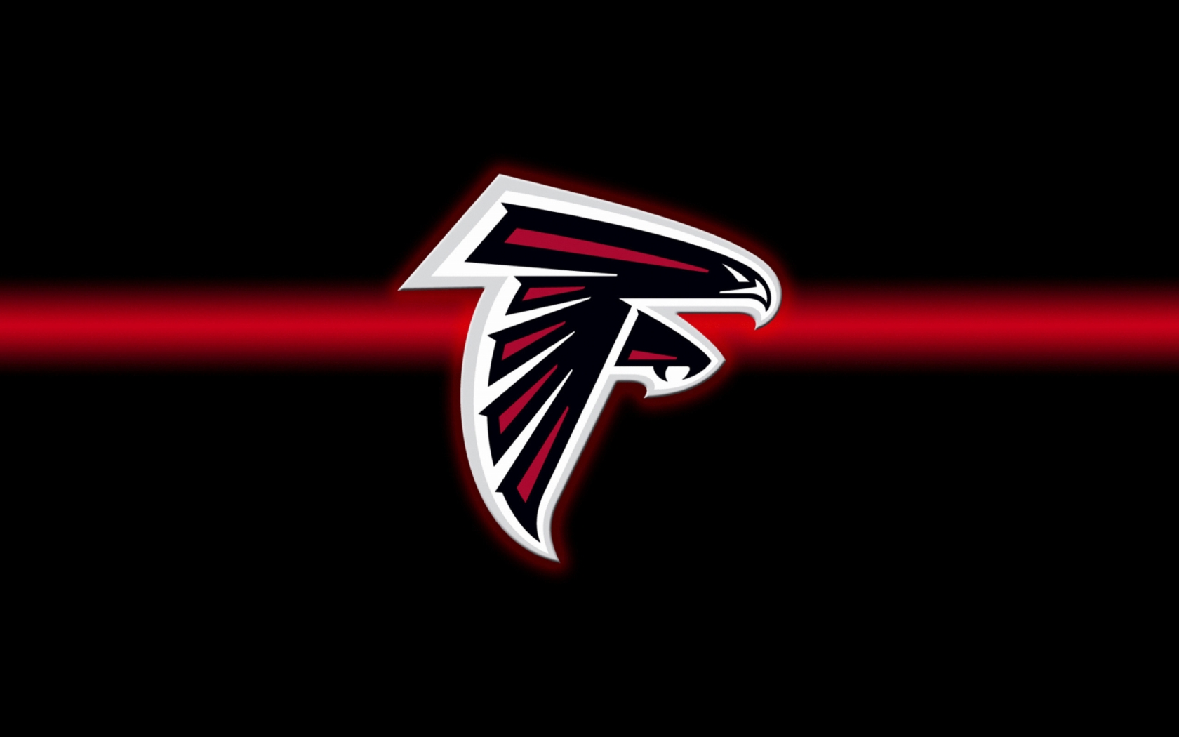 Atlanta Falcons Logo for 1680 x 1050 widescreen resolution