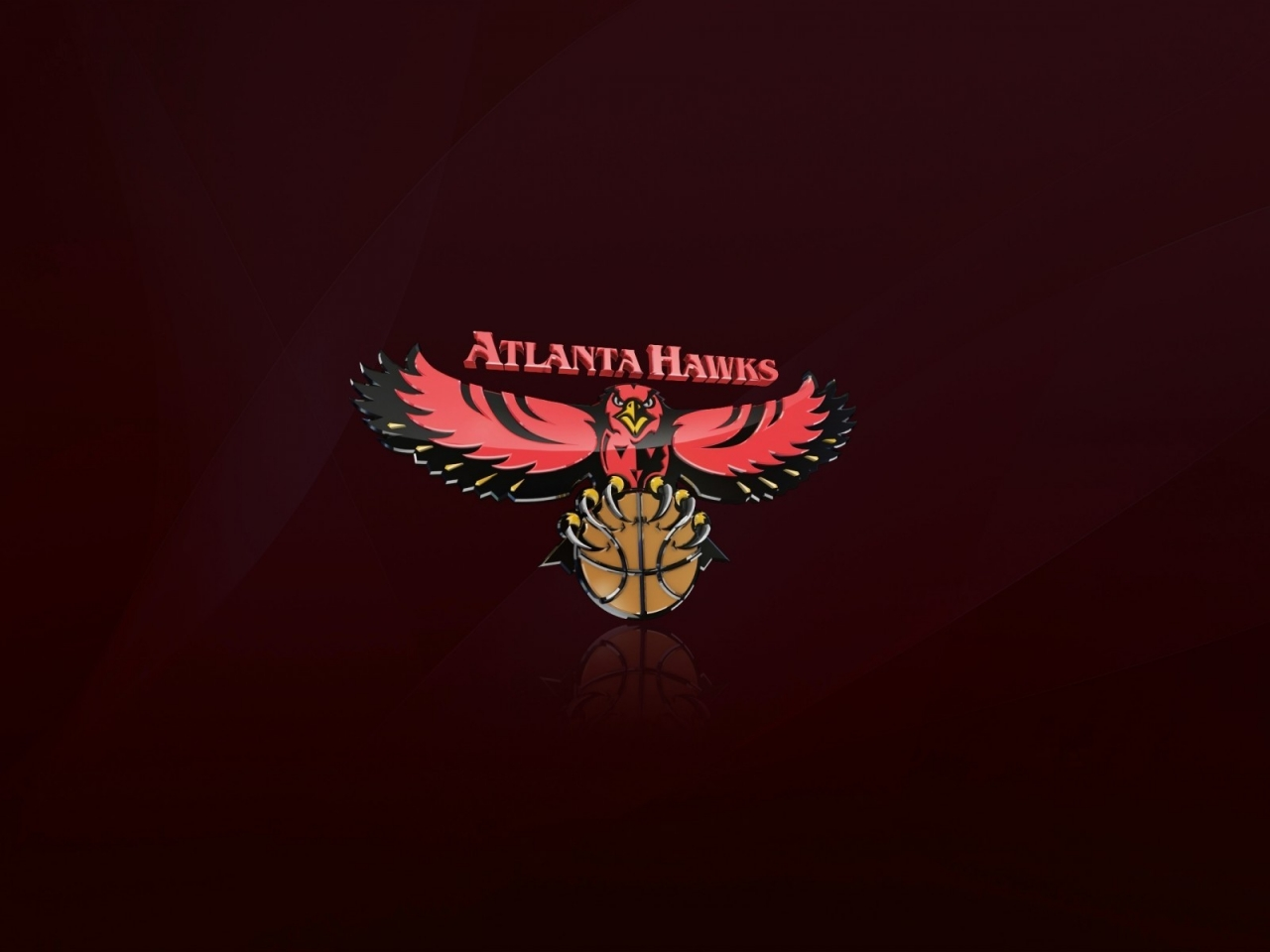 Atlanta Hawks Logo for 1280 x 960 resolution
