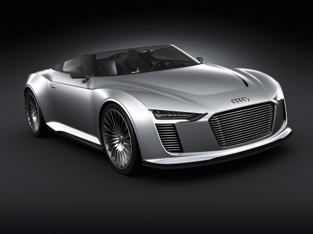 Audi E-Tron Spyder for 1024 x 768 resolution