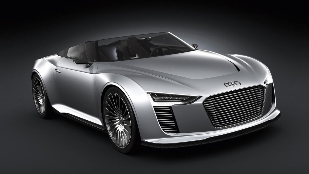 Audi E-Tron Spyder for 1280 x 720 HDTV 720p resolution