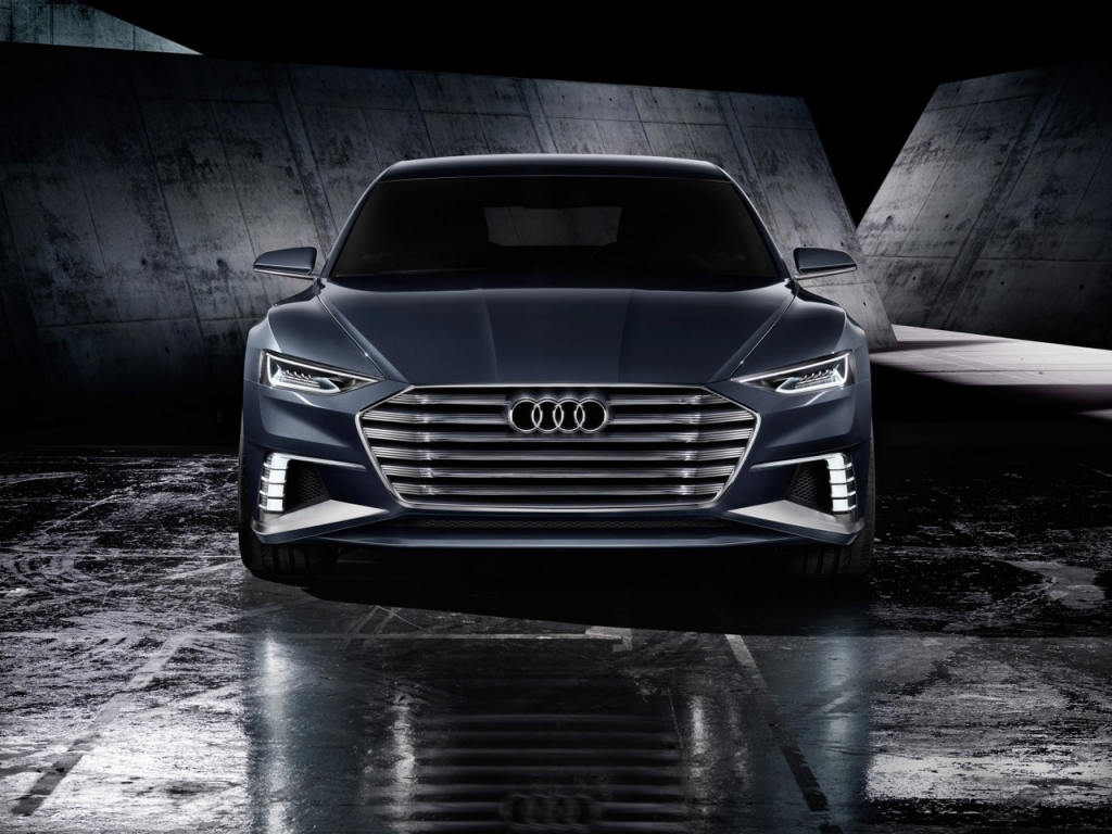 Audi Prologue Avant Front View for 1024 x 768 resolution