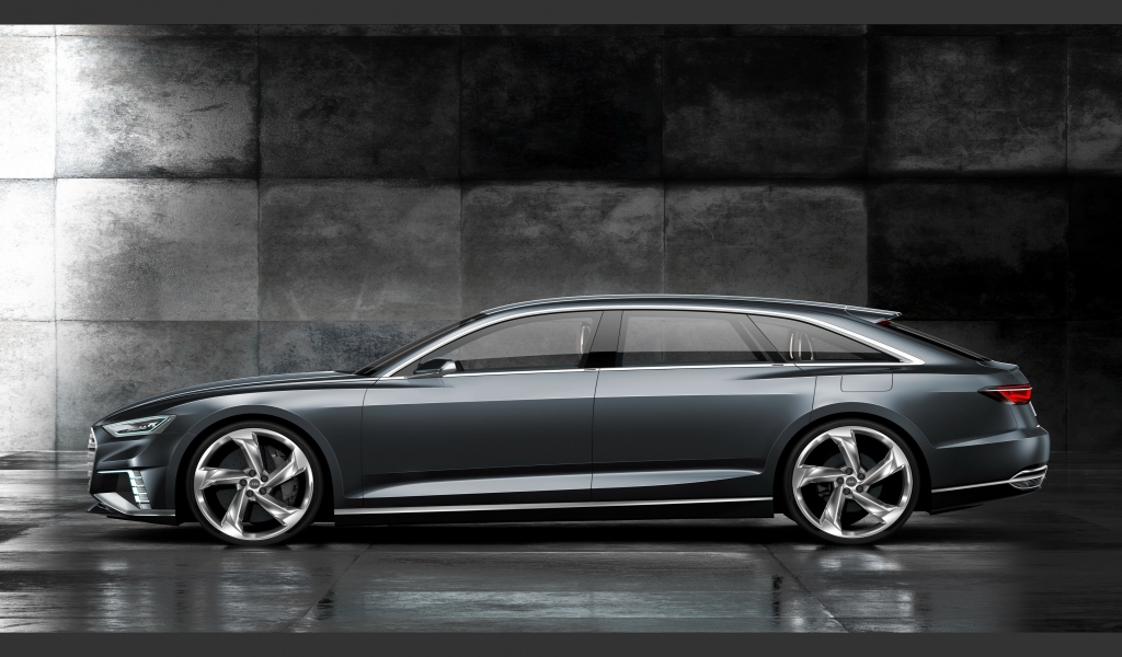 Audi Prologue Side View for 1024 x 600 widescreen resolution