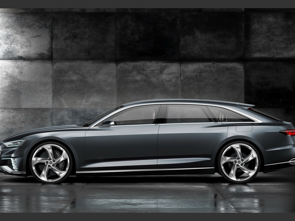 Audi Prologue Side View for 1024 x 768 resolution