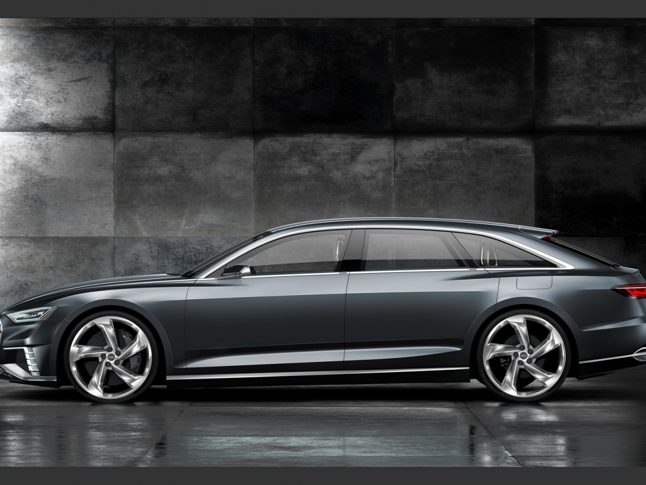 Audi Prologue Side View for 1280 x 960 resolution